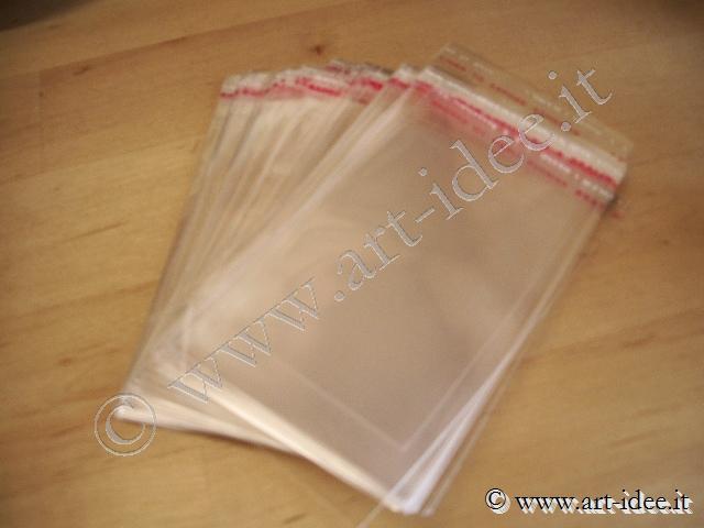 buste cellophane trasparente  Sacchetti trasparenti :: Sacchetti bustine cellophane crystal ...