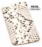 SKIN COVER VERA PELLE FINITURA PITONE PER IPHONE 6