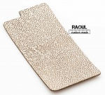 SKIN COVER VERA PELLE FINITURA GALUCHAT (RAZZA) PER IPHONE 6