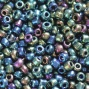 Conteria perline in vetro navy mix 2 mm x 20 gr